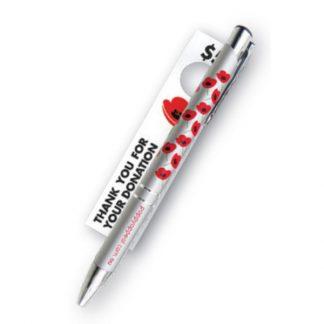 Poppy Pen Silver