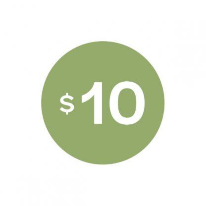 Virtual $10 Badge