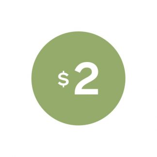 Virtual $2 Badge