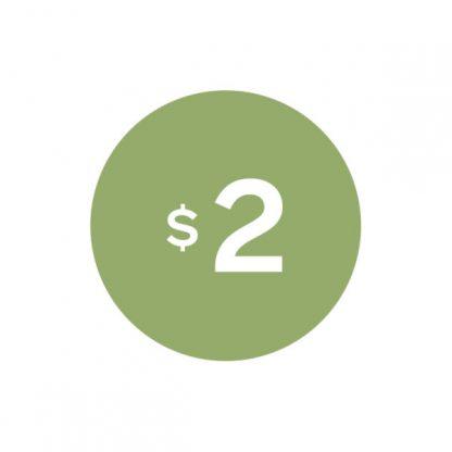 Virtual $2 Badge